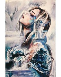 Artist ~ Dimitra Milan Deeper Still- I've lifted my head, choosing to see you. Your love comes rushing in. Immersed in your spirit, I know you are the only truth. Peace is all around me...I give you this storm raging inside me. Restore my soul, until we become the same wave...