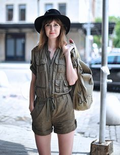 The perfect utility jumpsuit
