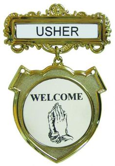 role of an usher in church