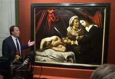 Hallan un posible Caravaggio en un ático en Francia - http://a.tunx.co/Gm6r0