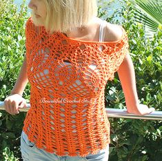 Pineapple Crochet Top Pattern Crochet Lace Top Crochet Summer Top Crochet Raglan…
