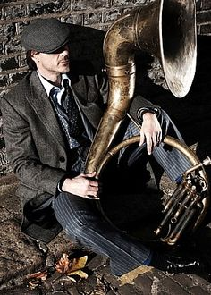 RDJ - putting the sexy back in sousaphone.
