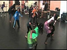 ▶ Delou Africa, Inc. - Education Outreach Programs: Children Learn West African Dance 'Funga' - YouTube