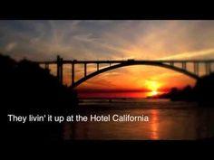 """Com uma letra puxada para o abstrato, surgiram muitas teorias em relação à letra da música. Uma delas, dizia que """"Hotel California"""" foi a denominação dada ao """"Camarillo State Hospital"""", um sanatório localizado no município de Ventura, entre Los Angeles e Santa Bárbara, que esteve em operação de 1936 a 1997. Durante o seu apogeu entre as décadas de 1950 e 1960, o Hospital estava na vanguarda do tratamento de pessoas com problemas mentais, a outra interpretação dos integrantes do Eagles."""