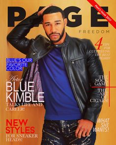 First Men's issue of PAGE MAGAZINE premiers 2/20/17 New Her Style, Georgia, Diva, Atlanta, Blues, Turning, Magazine, Fictional Characters, Color