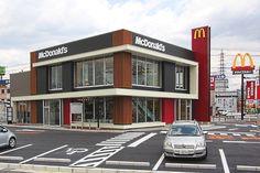 マクドナルド様 ■竣工日:2014年5月 ■新築 ■住所:愛知県刈谷市 ■構造:鉄骨造 ■地上2階 ■用途:飲食店舗