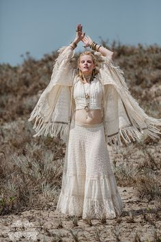 New GYPSY LACE KAFTAN Bohemian Hippie Boho by TimjanDesign