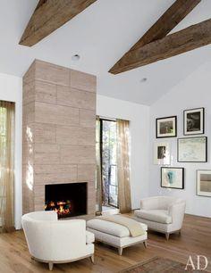 decoracao casa branco madeira