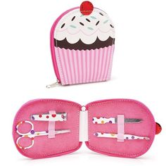 Kit Manicure Cupcake - Viagem Cool