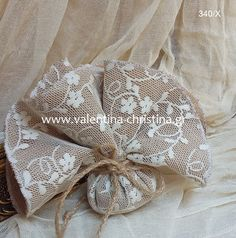 Μπομπονιέρα γάμου απο λινάτσα και δαντέλα Burlap, Reusable Tote Bags, Hessian Fabric, Jute, Canvas