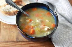 chicken vegetable and barley soup