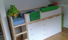 Kura Hack with dresser and drawers