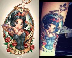 Hd Tattoos, Pin Up Tattoos, Sleeve Tattoos, Cool Tattoos, Awesome Tattoos, Tatoos, Mandala Tattoo Shoulder, Shoulder Tattoo, Snow White Tattoos