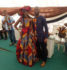 African Wedding Theme, African Wedding Attire, African Attire, African Wear, African Fashion Dresses, African Dress, African Style, African Weddings, African Traditional Wedding Dress