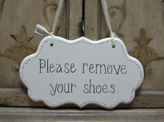 Hand Painted Wooden Shabby Chic Sign / Sign for by kimgilbert3,