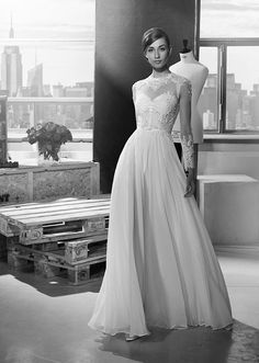 totally beautiful wedding dress | suknie-venus.pl