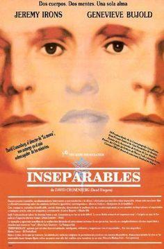 Inseparables (1988) Canada. Dir: David Cronenberg. Drama. Thriller. Terror. Drogas. Mutación. Películas de culto - DVD CINE 1343