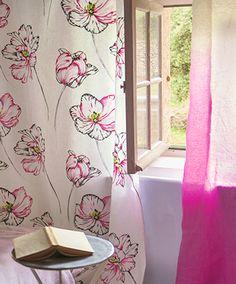 Designers Guild Montsuki embroidered linen
