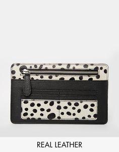 ASOS+Pony+Effect+Leather+Slim+Travel+Wallet