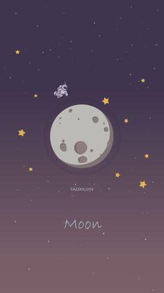 我是月球上的那个宇航员~Y(*^__^*)Y~_涂鸦王国 原创绘画平台 www.poocg.com