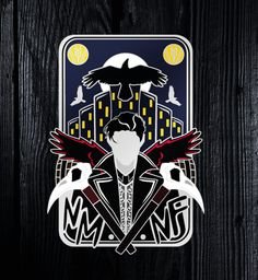 KAZ BREKKER - DIRTYHANDS - Six of Crows - Enamel Pin - GRADE B