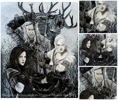 Fan art de #TheWither3 #TheWitcherIII #Games #Gameoftheyear #GeraltdeRivia #gaming #GeralttheRivia