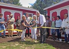 Food Shuttle cuts the ribbon on new a Teaching Farm Classroom & Office space, which will provide new educational opportunities for our Incubator Farmers!  #Farm #Raleigh #organic #FoodShuttleGrows #FoodShuttleTeaches #localfood