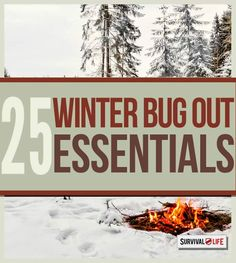 25 Winter Bug Out Essentials | Survival Tips