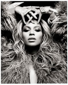 Beyonce by Thierry le Gouès - Photography - Black and White