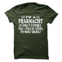 Pharmacist T-Shirts, Hoodies. CHECK PRICE ==► https://www.sunfrog.com/LifeStyle/Pharmacist-64486258-Guys.html?id=41382