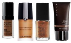 MAKEUP 101: The Top 12 Foundations For Flawless Dark Skin | HelloBeautiful
