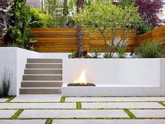 Large backyard landscaping ideas are quite many. However, for you to achieve the best landscaping for a large backyard you need to have a good design. Backyard Retaining Walls, Retaining Wall Design, Concrete Retaining Walls, Concrete Pavers, Paving Slabs, Concrete Blocks, Concrete Bench, Concrete Walls, Poured Concrete