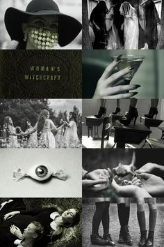 coven of witches aesthetic (more here)