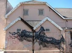 """Recently, Chinese street artist DAL left his mark again on the streets of Cape Town, South Africa with a new mural entitled """"The Williams Political Art, Lush Garden, Street Art Graffiti, Outdoor Art, Street Artists, Installation Art, Art Installations, Public Art, Woodstock"""