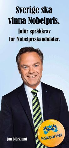 ironisk: Folkpartiet 2010