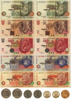 9 Best south african old and new money images in 2017