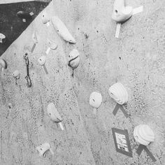 I don't set routes often but when I do I always have fun. #climbing #training