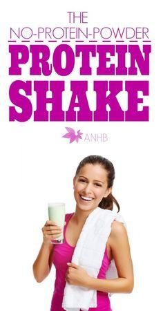 How to make a Natural Protein Shake without Protein Powder (Paleo, Dairy Free, Vegan, Raw, Gluten Free, Grain Free)