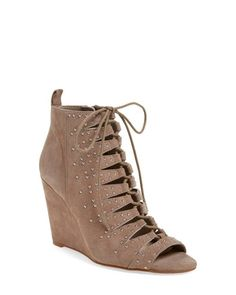 JESSICA SIMPSON Women's Barlett Wedge Lux Kid Suede Warm Taupe * Read more reviews of the product by visiting the link on the image. (Amazon affiliate link)