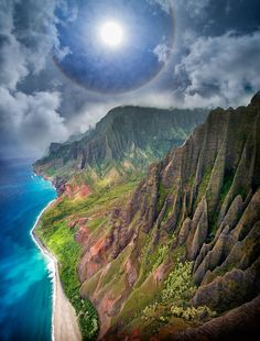 Kauai Na Pali Coast Aerial by Ignacio Palacios on 500px