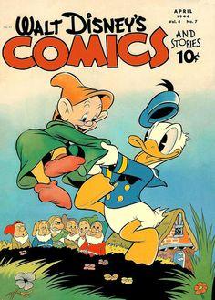 Walt Disney's Comics - April 1944