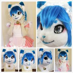 Ayako the Maid Cat - by Milkyway.Monstars