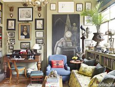What To Do With The Most Boring Wall In Your House  - HouseBeautiful.com