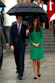 William and Kate leave the Cambridge town hall