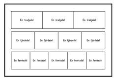 Här kommer 12 kort med hemliga tal. Om barnen ska arbeta med korten samtidigt i halvklass (ca 12 elever) rekommenderar jag 3 ex av kort nr 1-4 och 1-2 ex av kort 5-12. Korten lamineras och barnen s…