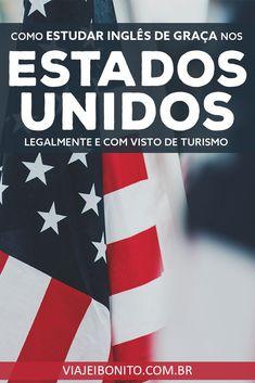 Como estudar inglês de graça nos Estados Unidos legalmente com o visto de turismo #estadosunidos #eua #estudar