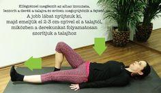 8 gyakorlat derékfájás ellen a mindennapokra Maid, Health, Fitness, Sports, Hs Sports, Health Care, Maids, Sport, Salud