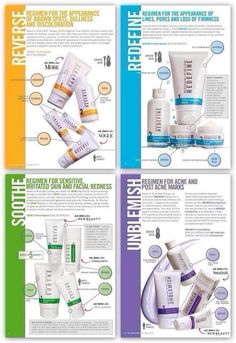 4 Regimens from Rodan + Fields. Right under prescription grade ingredients = real results. Without the price tag of going to a dermatologist:-) denisejbrown.myrandf.com
