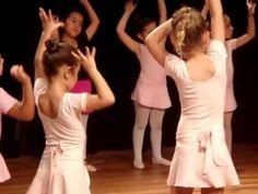 Apresentação no Ballet