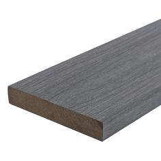 NewTechWood UltraShield Naturale Cortes 1 in. x 6 in. x 8 ft. Westminster Gray Solid Composite Decking Board